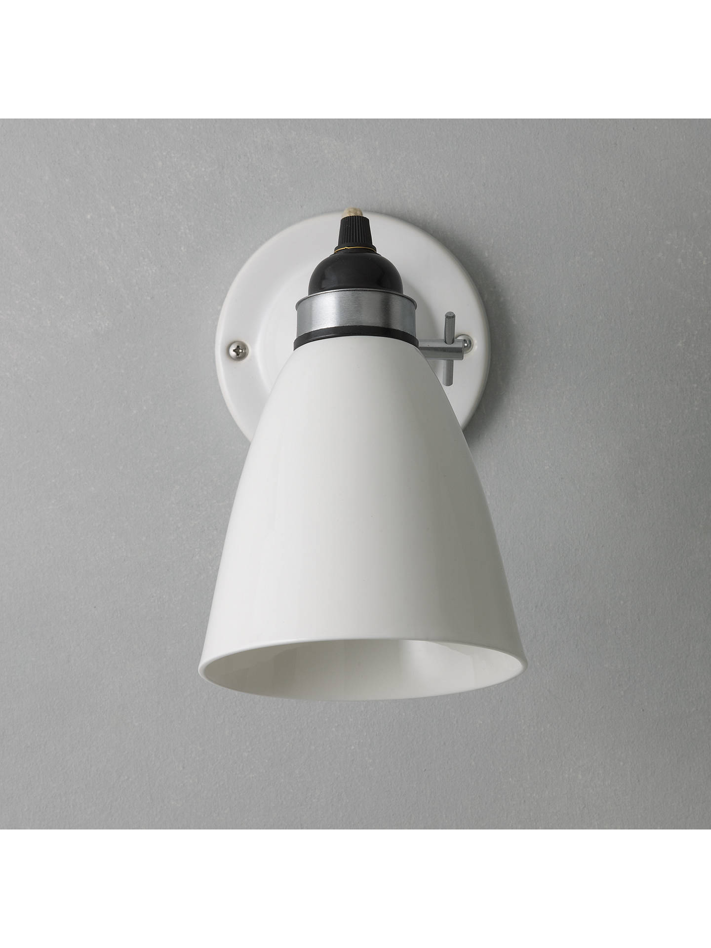 Original Btc Hector Dome Switched Wall Light At John Lewis