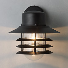 Outdoor lighting garden lights john lewis buy nordlux vejers outdoor wall lantern online at johnlewis audiocablefo Light database