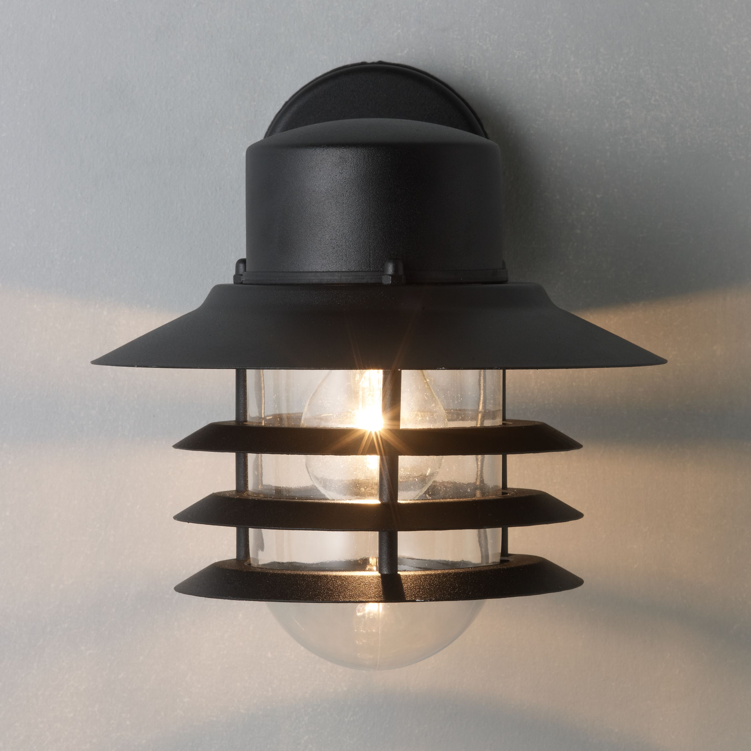 Outside Halogen Wall Lights : Buy Nordlux Vejers Outdoor Wall Lantern John Lewis