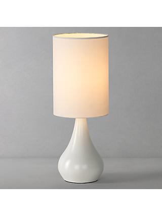 White Table Lamps Desk Table Lamps John Lewis Partners