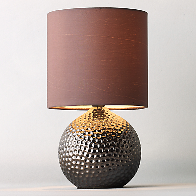 Product photo of John lewis alisa table lamp bronze