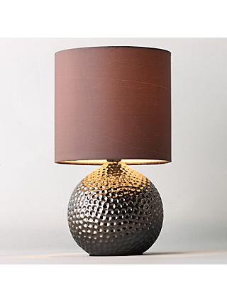John Lewis & Partners Alisa Table Lamp, Bronze
