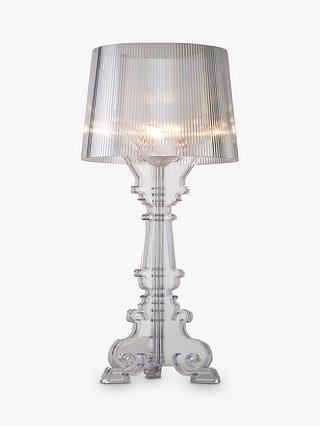 Buy Kartell Bourgie Table Lamp, Clear Online at johnlewis.com