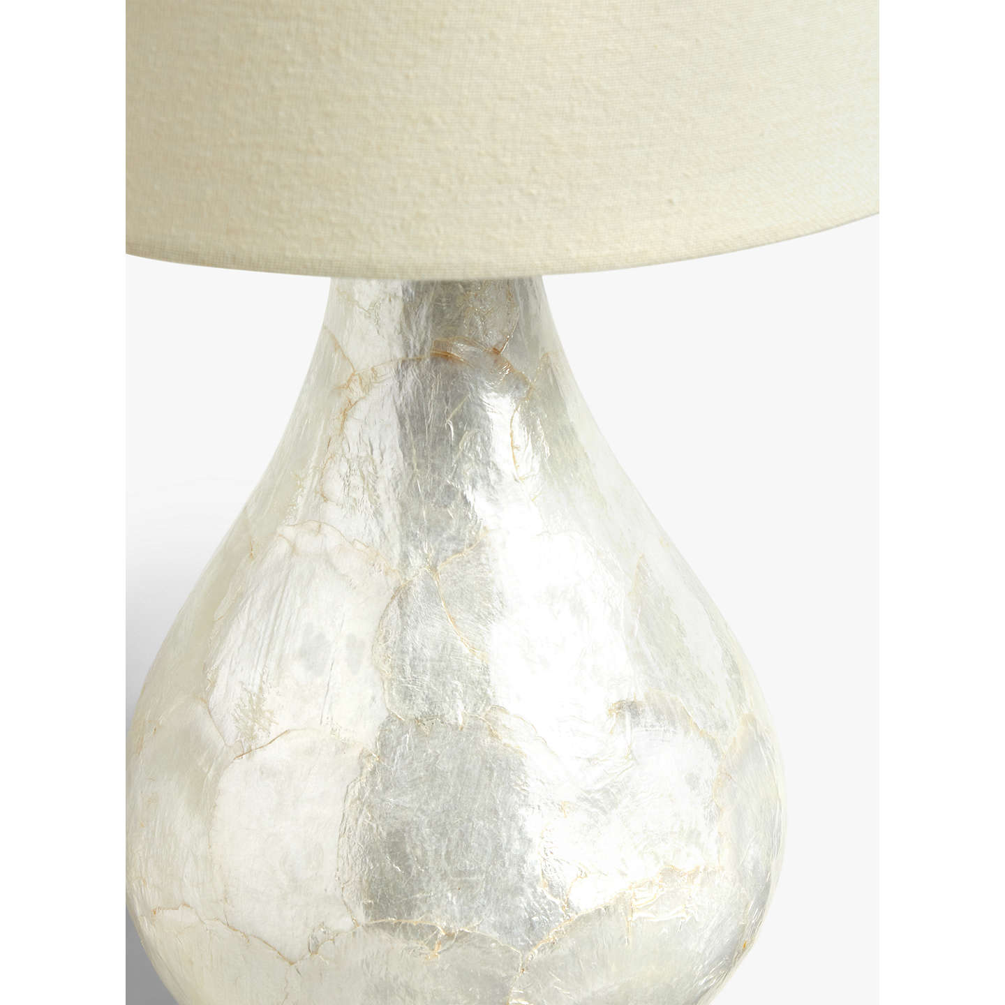 John lewis pearl dual lit capiz shell table lamp at john lewis buyjohn lewis pearl dual lit capiz shell table lamp online at johnlewis aloadofball Gallery