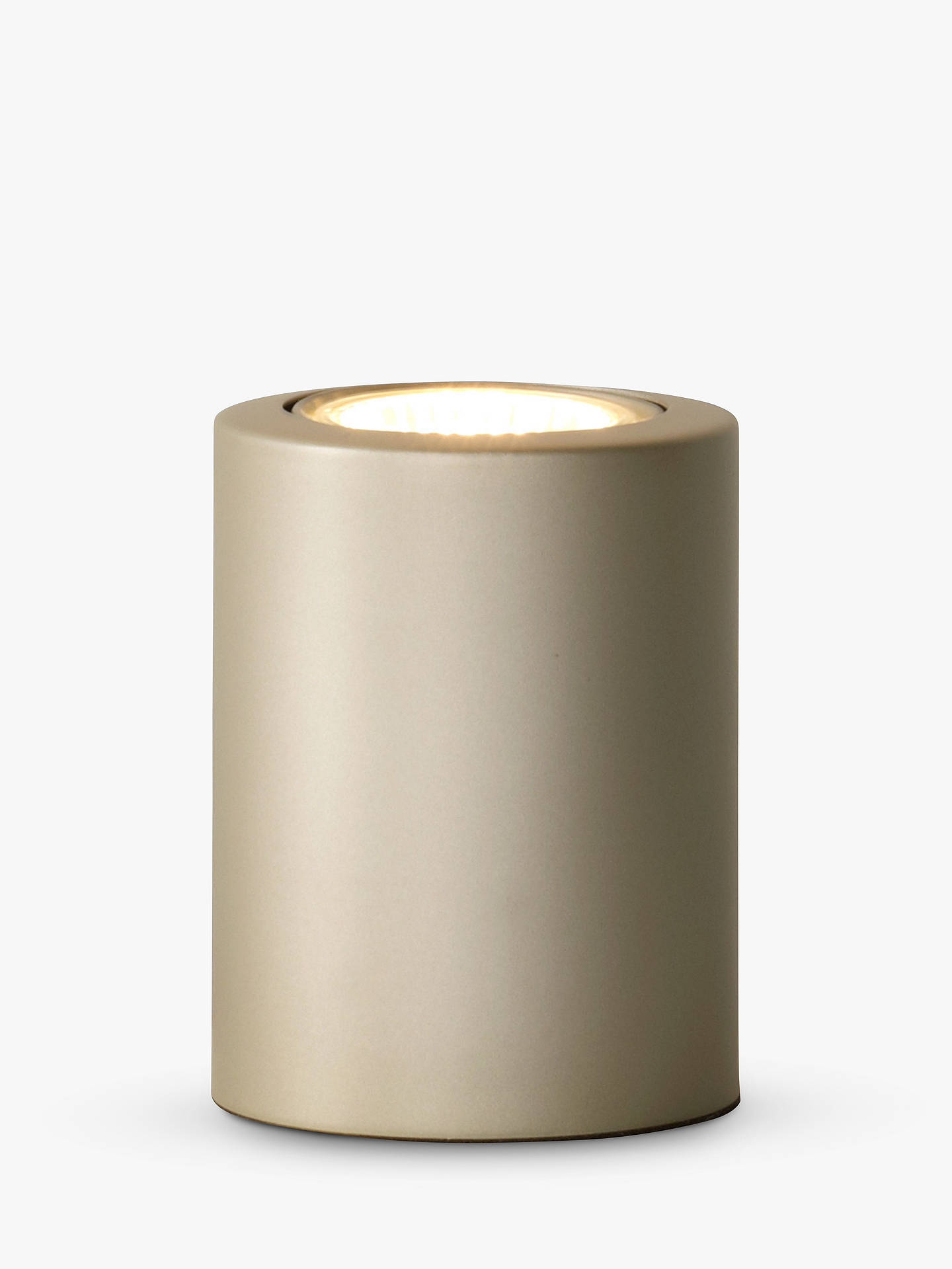 Buy John Lewis & Partners Didi Table Uplighter, Stainless Steel Online at johnlewis.com