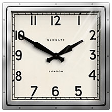 Buy Newgate Quad Wall Clock, H40 x W40cm Online at johnlewis.com