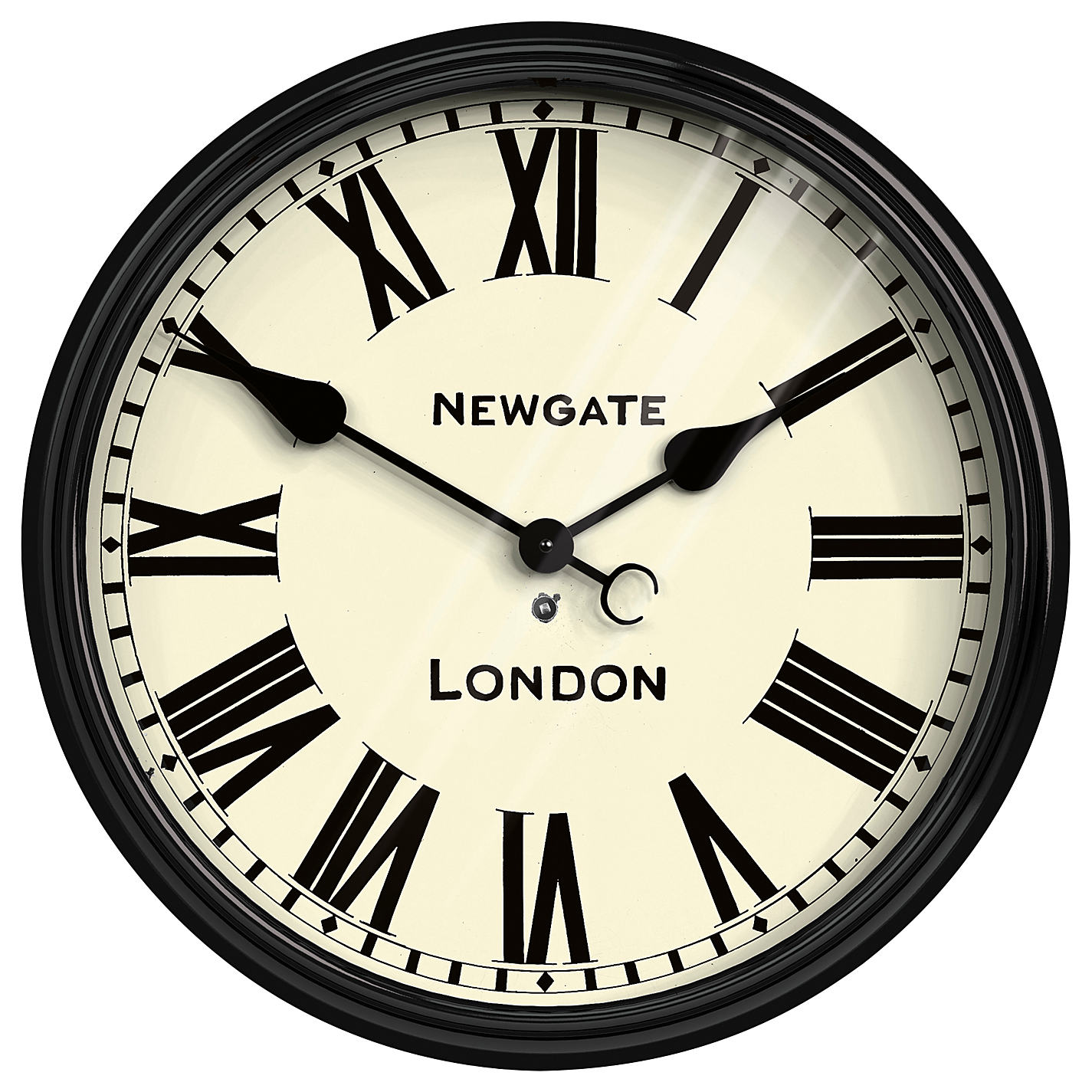 Buy Newgate Battersby Wall Clock Dia50cm Online At Johnlewis