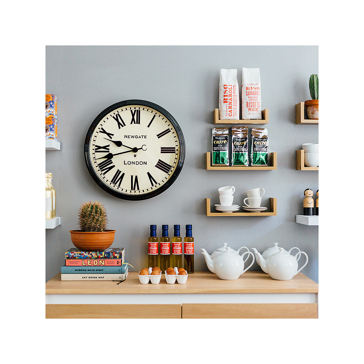 Buy newgate battersby wall clock dia50cm john lewis buy newgate battersby wall clock dia50cm online at johnlewis amipublicfo Images