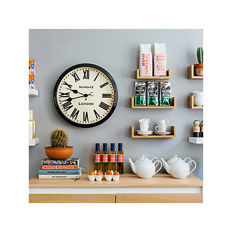 Buy Newgate Battersby Wall Clock, Dia.50cm Online at johnlewis.com
