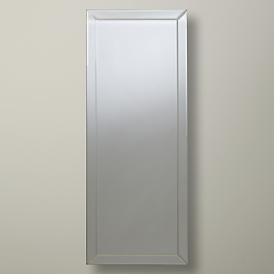 John Lewis Bevel Simple Mirror, Large, 150 x 60cm