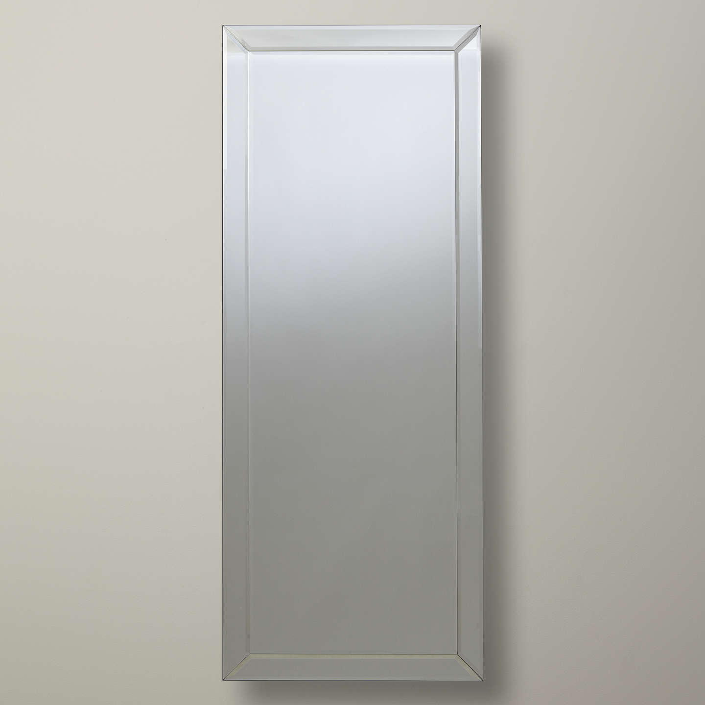 John lewis bevel simple mirror large 150 x 60cm at john for Miroir 150 x 60