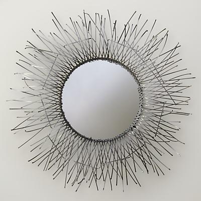 John Lewis Seaweed Round Mirror, Dia.110cm