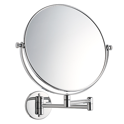 John Lewis & Partners Extending Magnifying Bathroom Mirror, 25cm