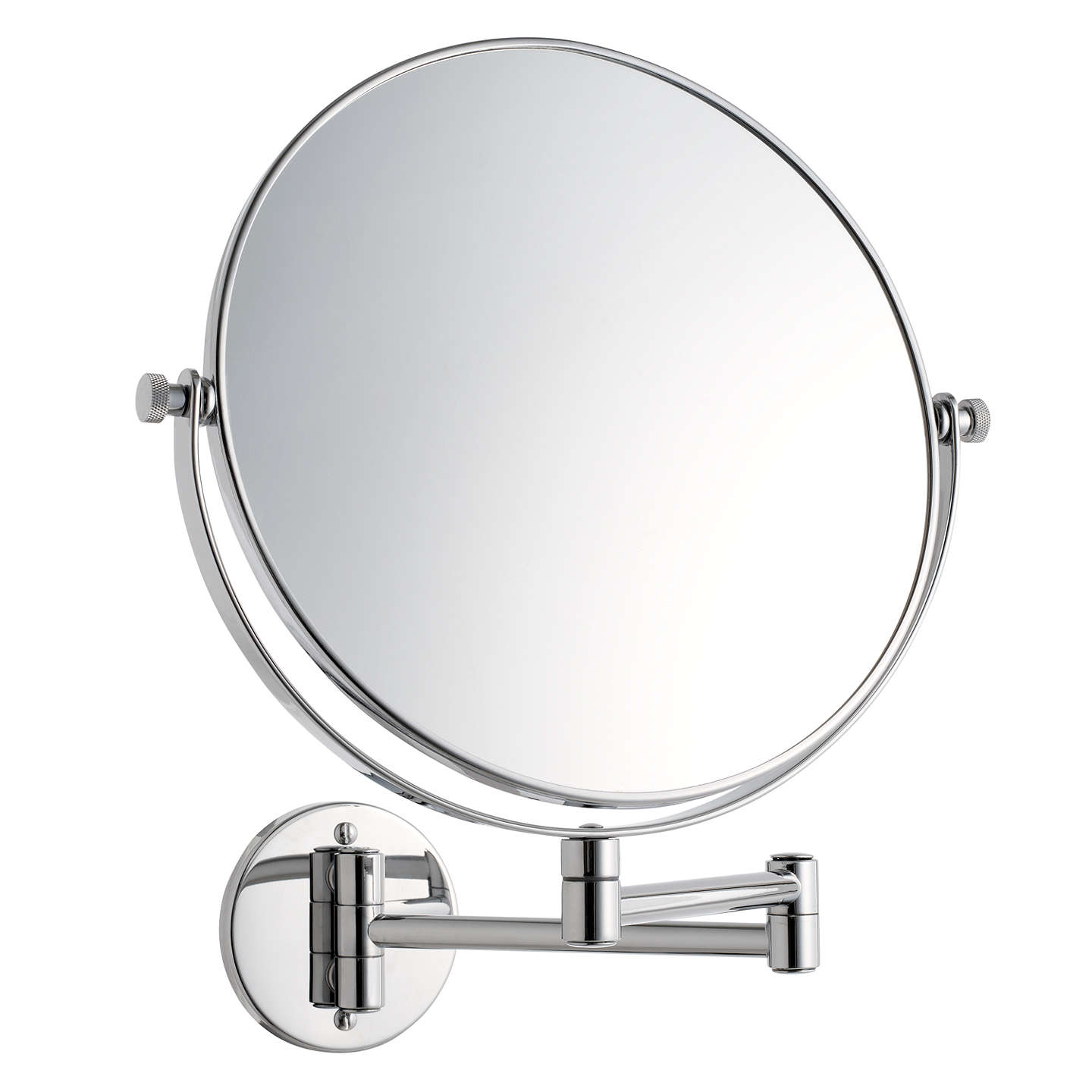 extendable magnifying bathroom mirror lewis extending magnifying bathroom mirror 25cm at 18258