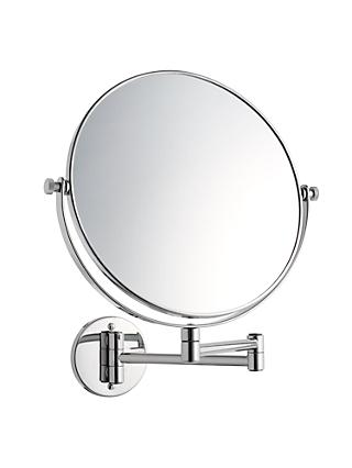 John Lewis & Partners Extending Magnifying Bathroom Mirror, 25cm