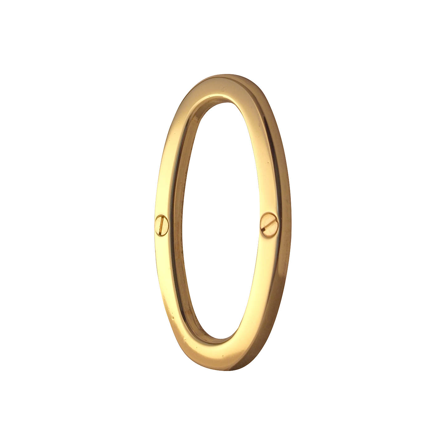 BuyJohn Lewis Door Numeral Polished Brass 1 Online at johnlewis.com  sc 1 st  John Lewis & John Lewis Door Numerals | Polished Brass at John Lewis