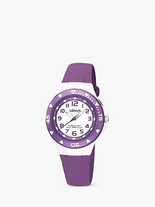 Lorus Children's Rubber Strap Watch