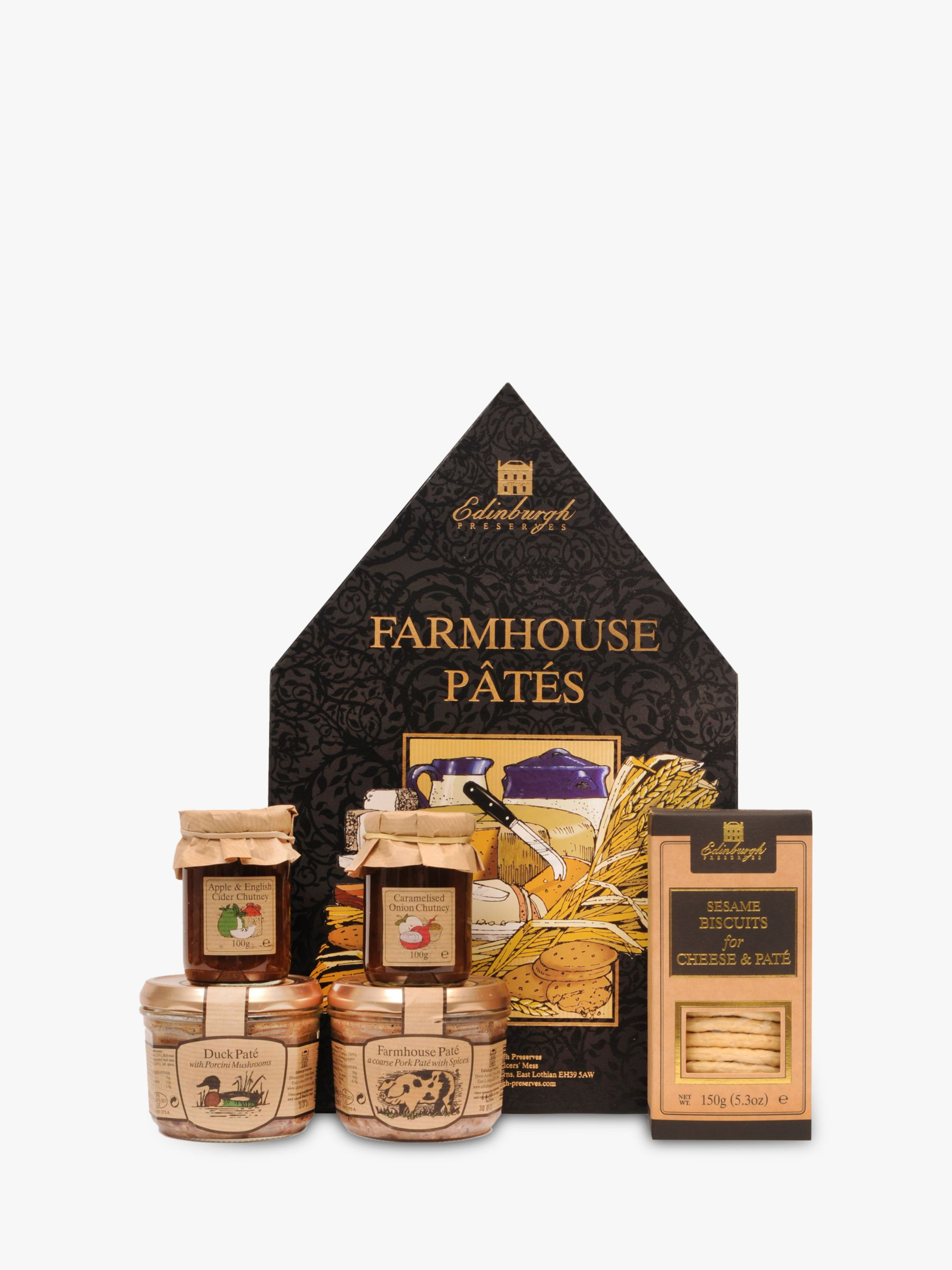 Edinburgh Preserves Edinburgh Preserves Farmhouse Patés for Cheese Box, 710g