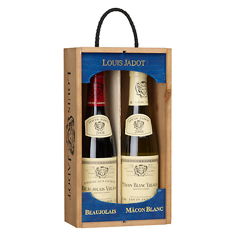 Buy Louis Jadot Mâcon Blanc and Beaujolais Duo Wine Set, 2 x 37.5cl Online at johnlewis.com
