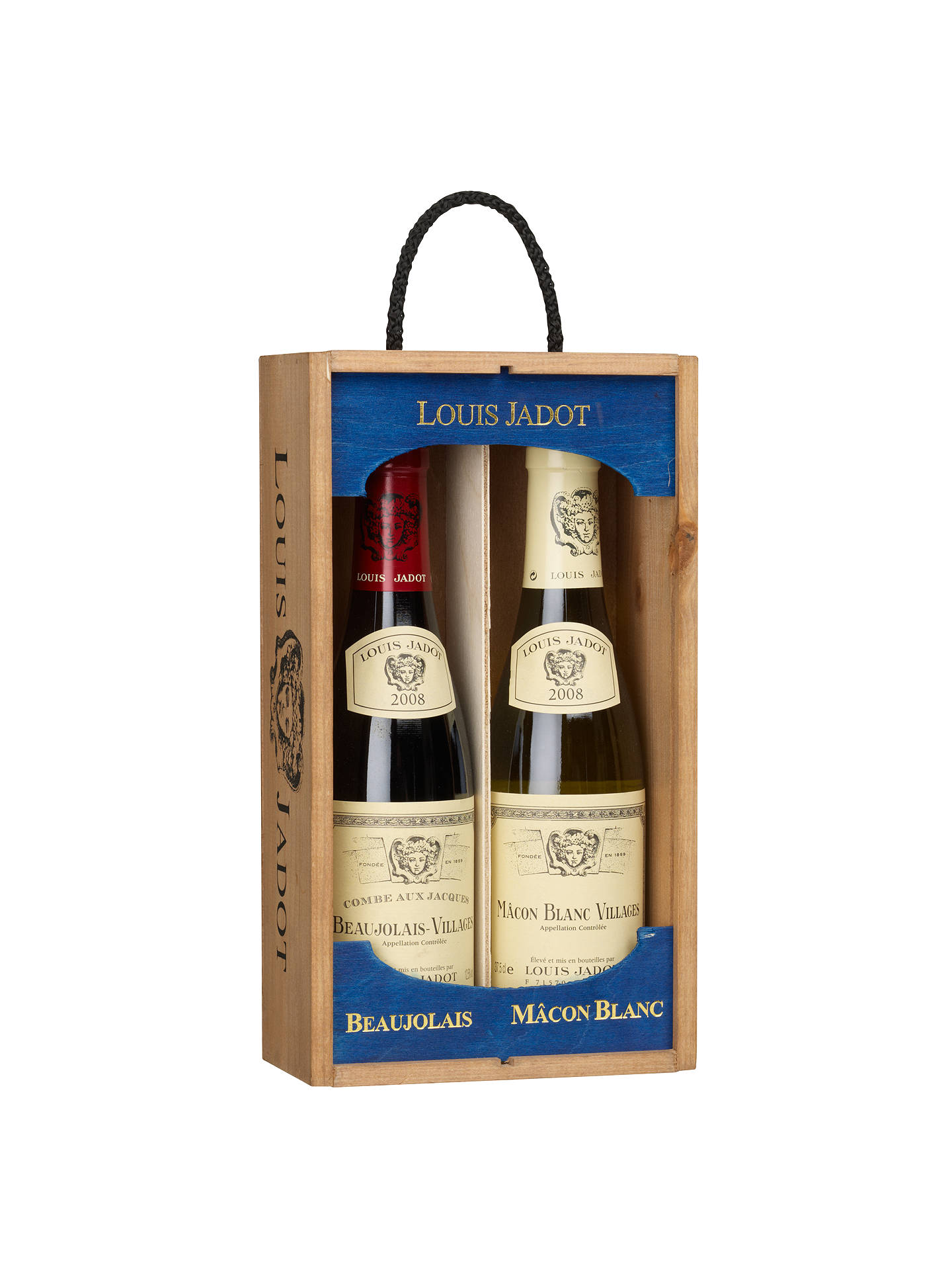 BuyLouis Jadot Mâcon Blanc and Beaujolais Duo Wine Set, 2 x 37.5cl Online at johnlewis.com