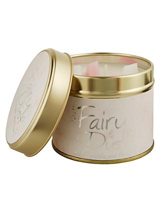 Lily-flame Fairy Dust Scented Tin Candle, 230g