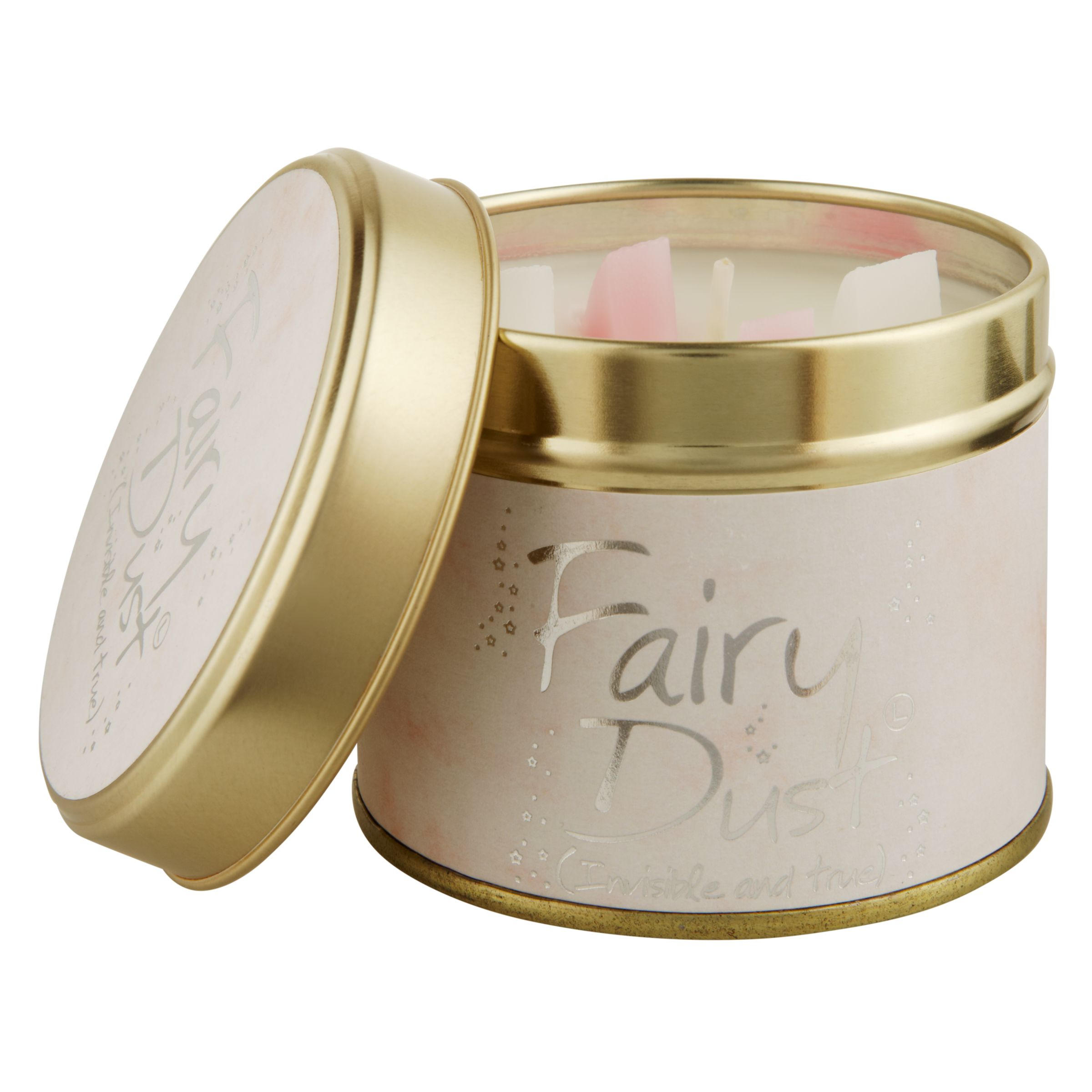Lily-Flame Lily-flame Fairy Dust Scented Candle Tin