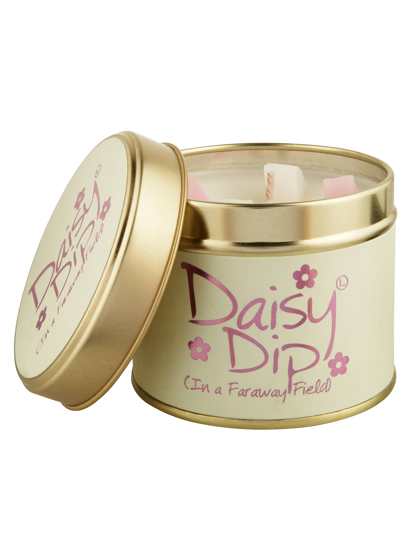 Buy Lily-flame Daisy Dip Scented Tin Candle, 230g Online at johnlewis.com