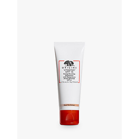 Buy Origins VitaZing™ SPF15 Energy-Boosting Moisturiser, 50ml Online at johnlewis.com