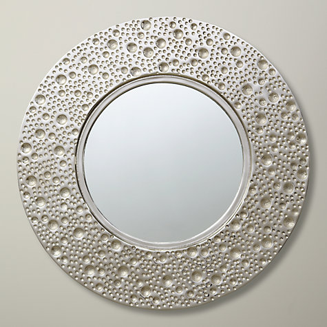 Buy lunar round mirror dia 59cm john lewis for Round mirror