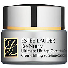 Buy Estée Lauder Re-Nutriv Ultimate Lift Age Correcting Crème, 50ml Online at johnlewis.com
