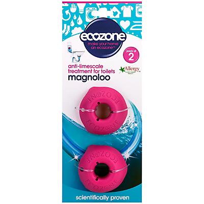 Ecozone Magnoloo Toilet Descaler, Pack of 2