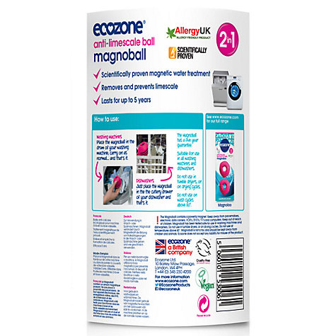 Buy Ecozone Magnoloo Toilet Descaler, Pack of 2 Online at johnlewis.com