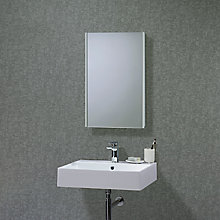 Buy Roper Rhodes Limit Slimline Single Bathroom Cabinet with Double-Sided Mirror Online at johnlewis.com