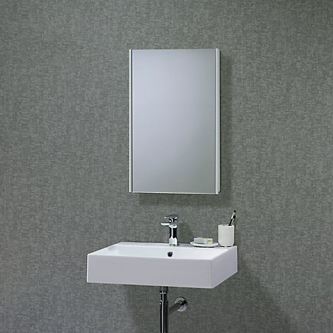 buy roper rhodes limit slimline single bathroom cabinet with doublesided mirror online at johnlewis