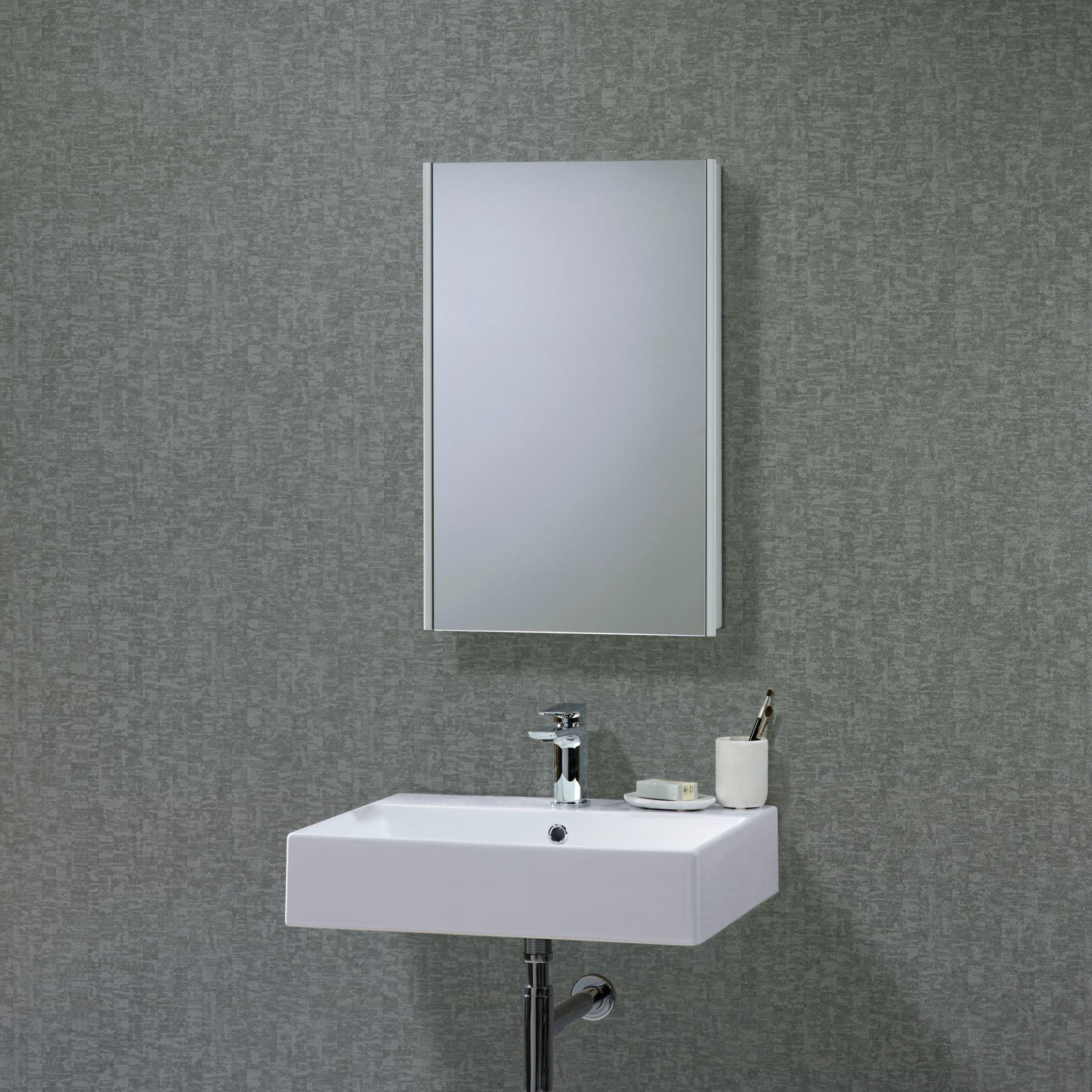 Roper Rhodes Roper Rhodes Limit Slimline Single Mirrored Bathroom Cabinet