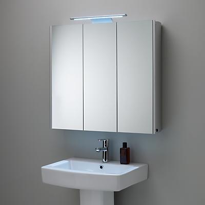 John lewis absolute triple mirrored bathroom cabinet for John lewis bathroom wallpaper