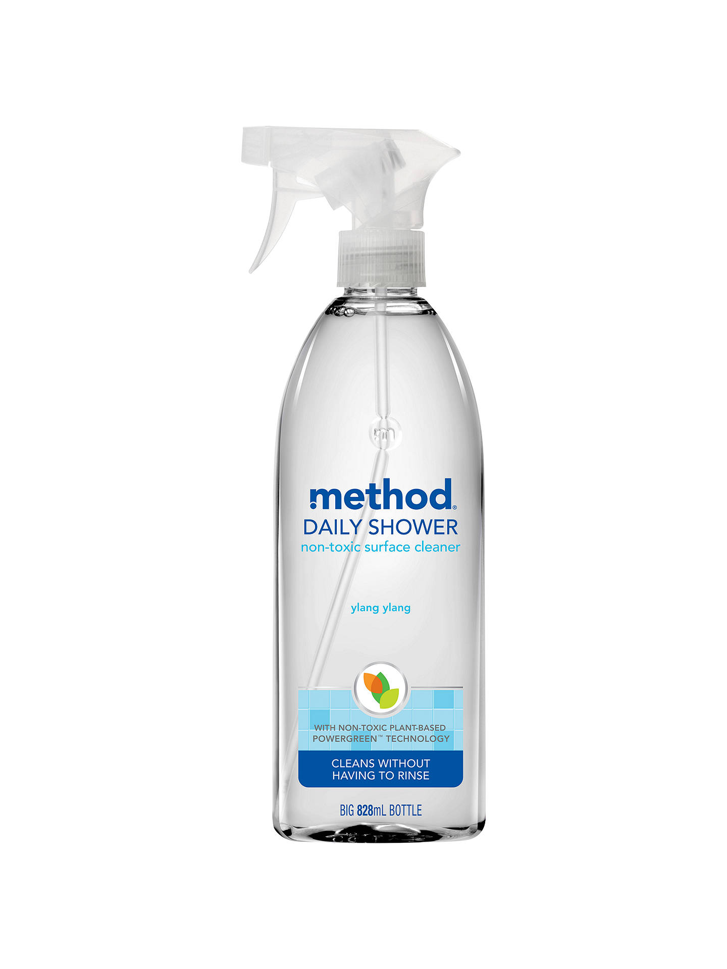 Method shower cleaner spray ylang ylang at john lewis for Method bathroom cleaner ingredients
