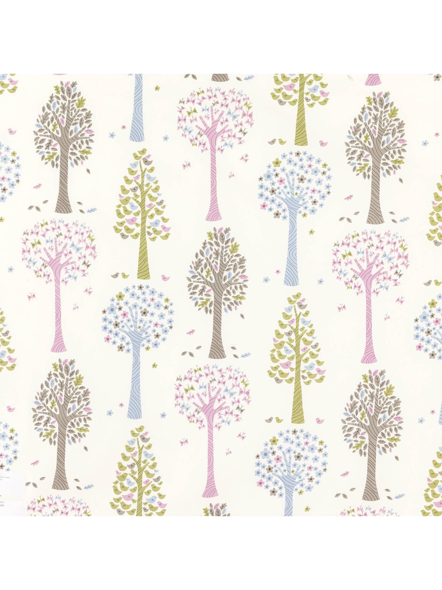 Little Home At John Lewis Magic Trees Furnishing Fabric Multi Online Johnlewis