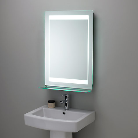 Buy Roper Rhodes Gamma Backlit Bathroom Mirror Online At Johnlewis