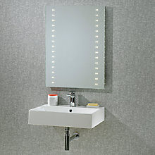 Buy Roper Rhodes Pulse LED Bathroom Mirror Online at johnlewis.com