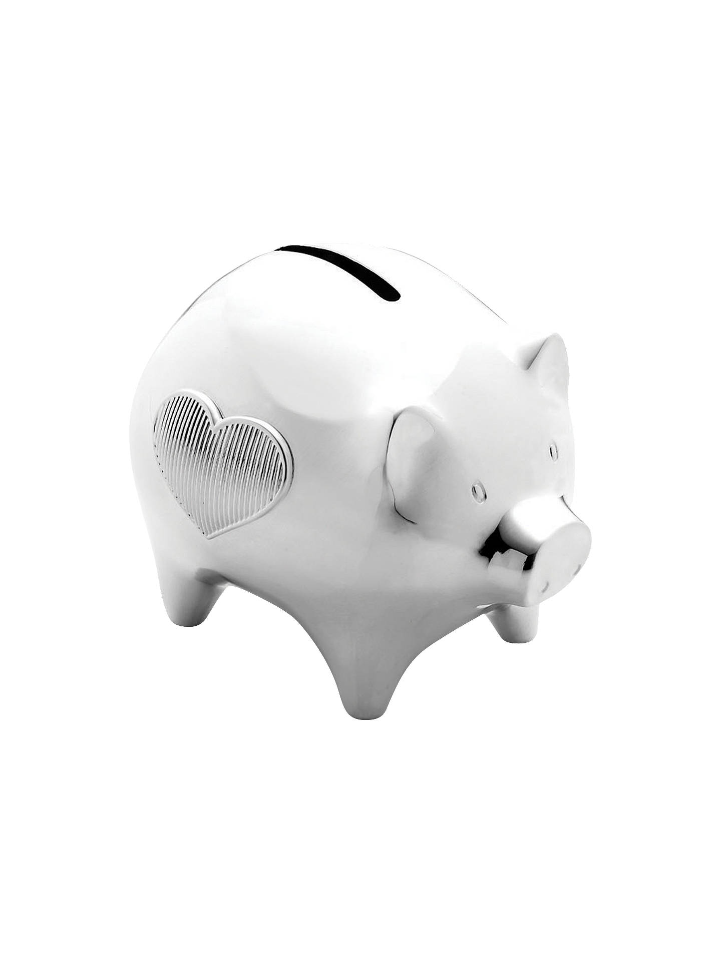 BuyVera Wang for Wedgwood Baby Collection Piggy Bank Online at johnlewis.com