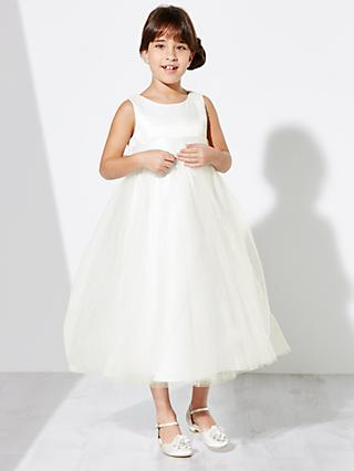 John Lewis & Partners Girls' Fairy Bridesmaid Dress, Ivory