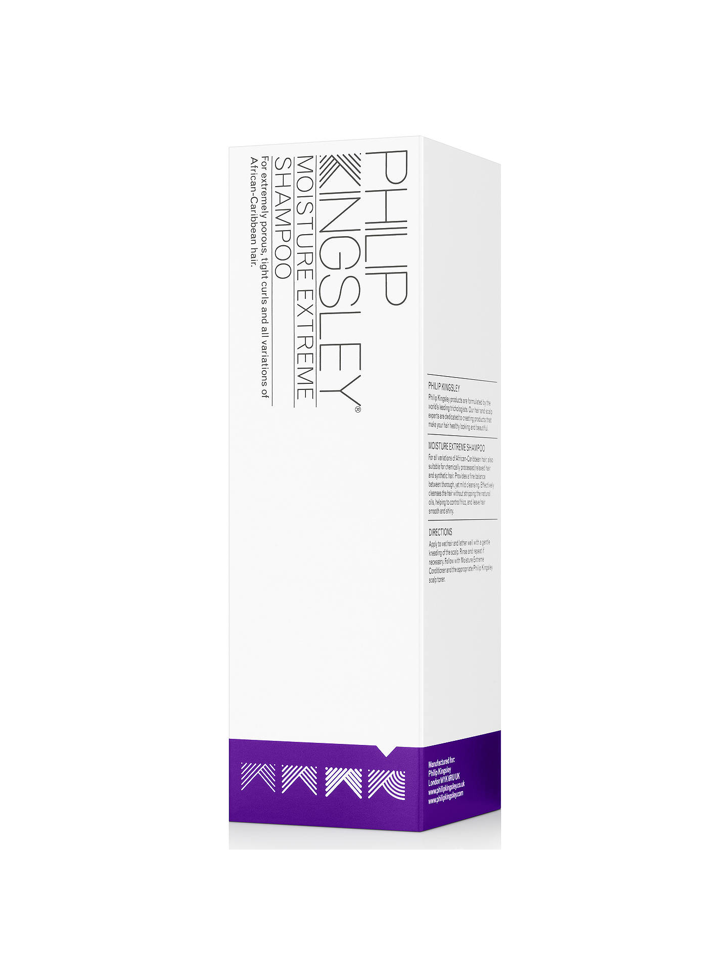 Buy Philip Kingsley Moisture Extreme Shampoo, 250ml Online at johnlewis.com