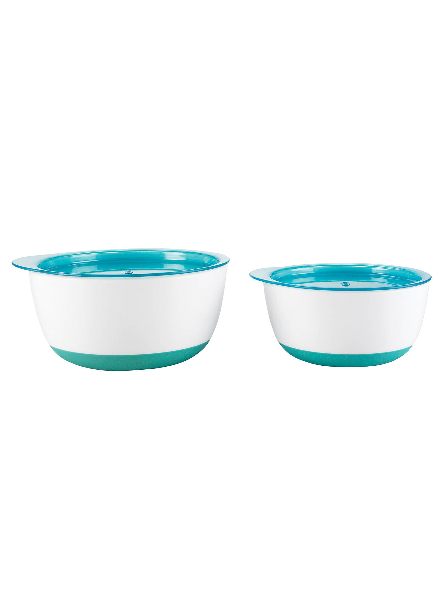 Buy OXO Tot Large and Small Bowl Set, Blue, One size Online at johnlewis.com