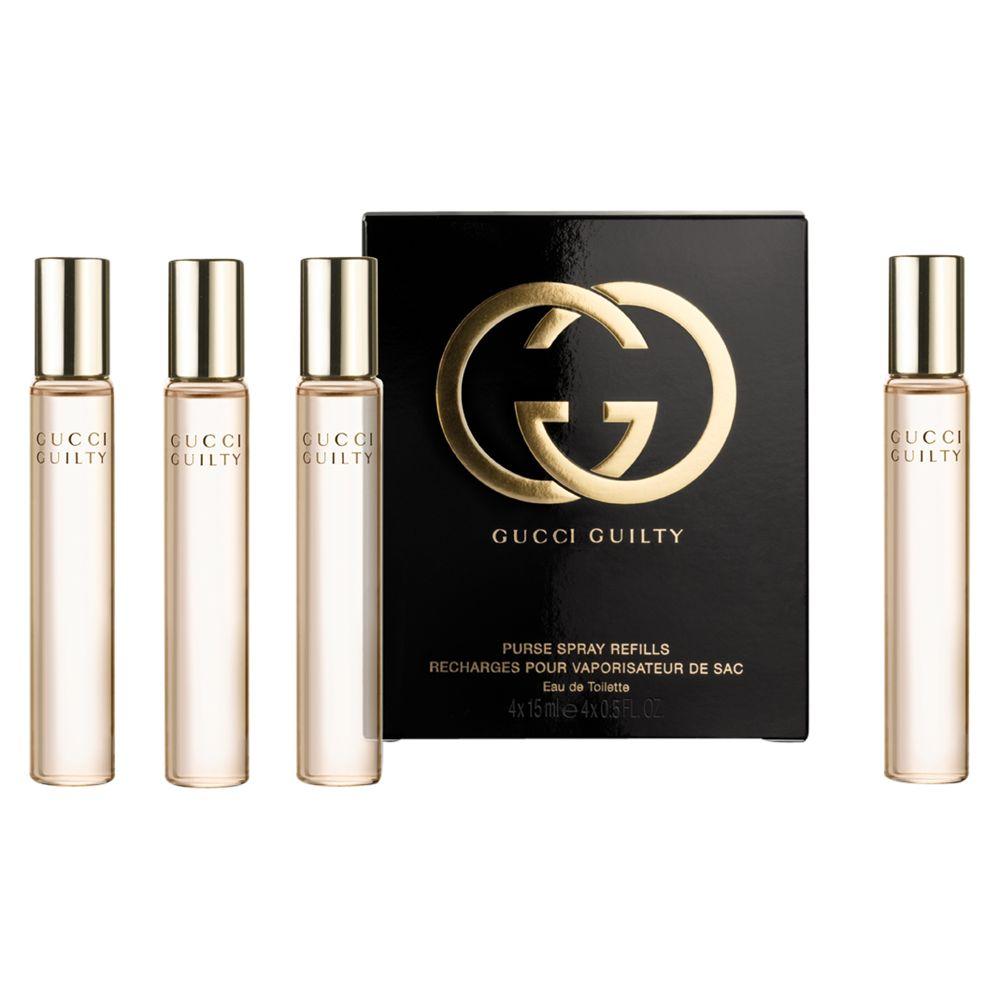 Gucci Guilty Eau De Toilette Purse Spray Refills 4 X 15ml At John