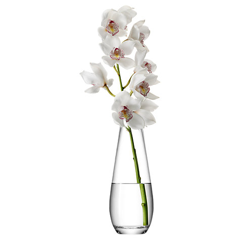 Buy LSA International Flower Tall Stem Vase, H29cm Online at johnlewis.com