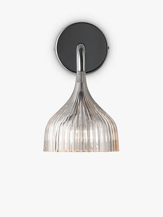 Buy Kartell E Wall Light, Clear Online at johnlewis.com