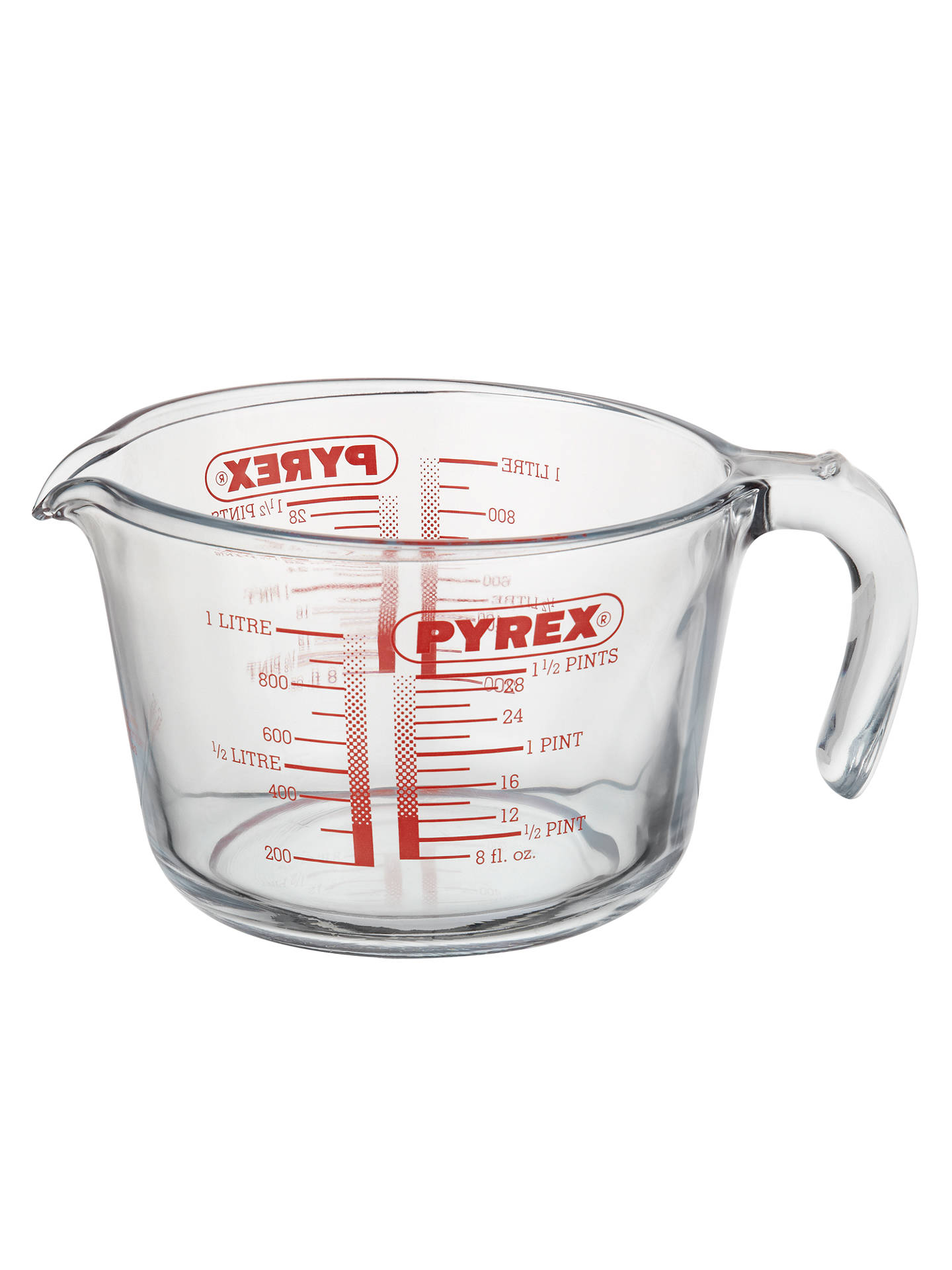 BuyPyrex 1L Glass Measuring Jug Online at johnlewis.com