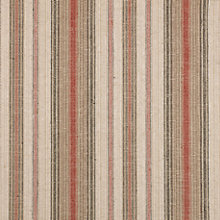 Buy John Lewis Pianosa Stripe Furnishing Fabric, Soft Red Online at johnlewis.com