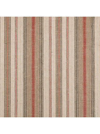 Buy John Lewis & Partners Pianosa Stripe Furnishing Fabric, Soft Red Online at johnlewis.com